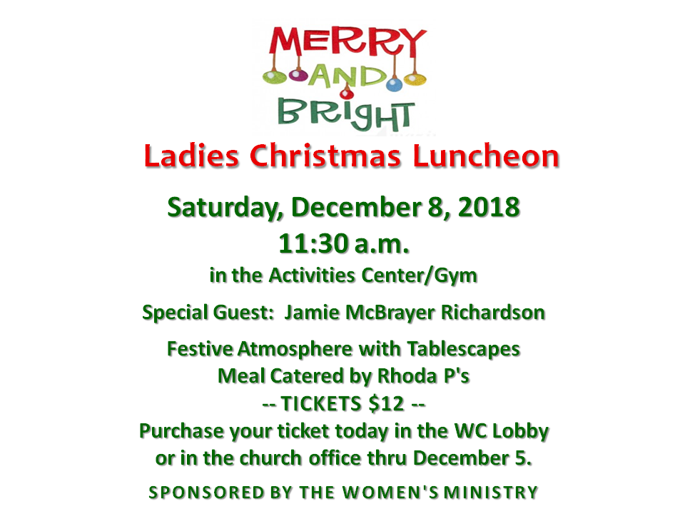 Merry and Bright Women's Luncheon