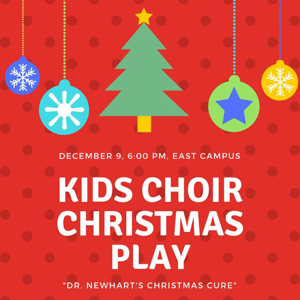 Kid's Choir Christmas Play