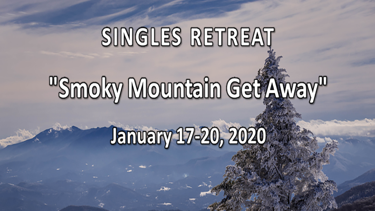 Singles Smoky Mountain Retreat