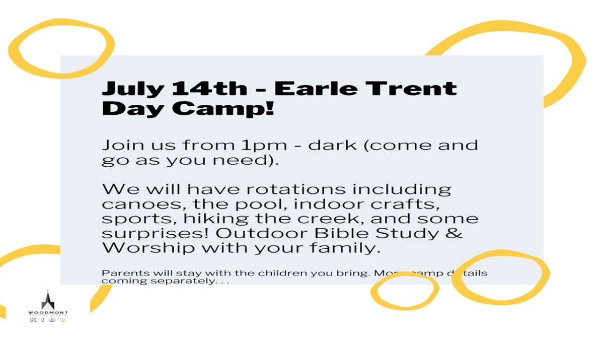 Family Day Camp Earle Trent Assembly